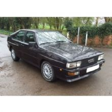 Audi Quattro - 2 door 1983 to 1989